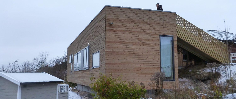 Tilbygg og ombygging av bolig Bjørnefjellet 1